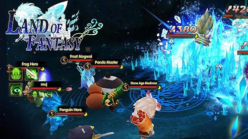 RPG Land of fantasy für das Smartphone