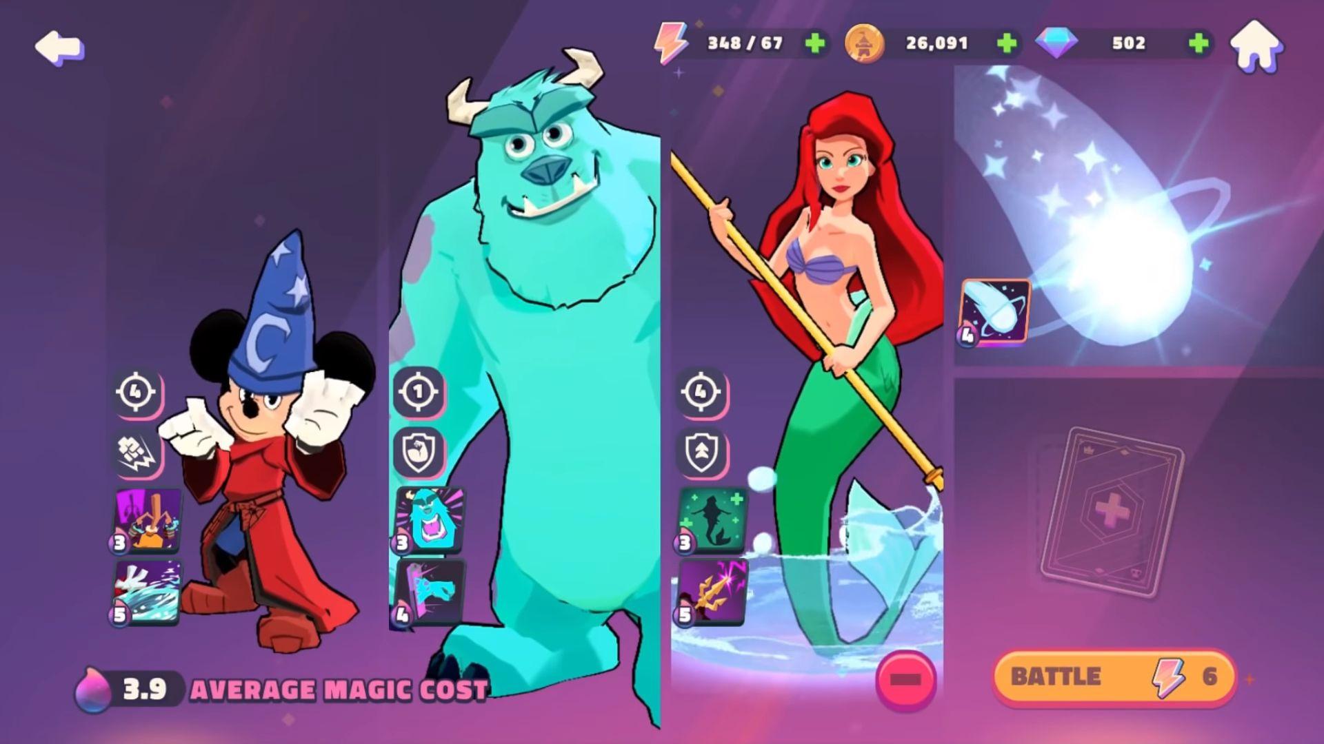 Disney Sorcerer's Arena captura de pantalla 1