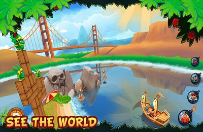 Arcade-Spiele: Lade Piraten Ballergame auf dein Handy herunter