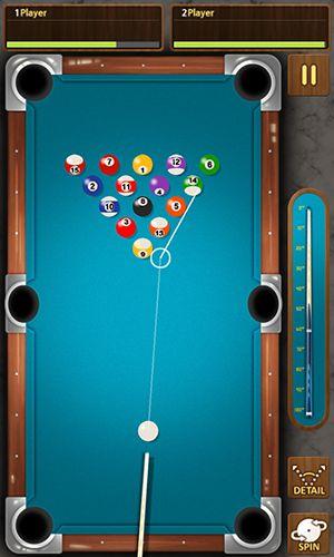 Juegos con multijugador The king of pool billiards para teléfono inteligente