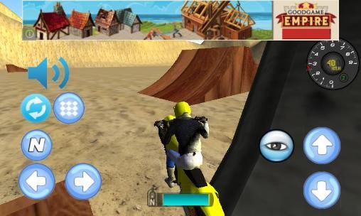 Mototrials Bike racing: Motocross 3D auf Deutsch