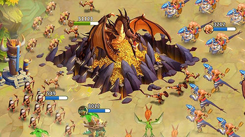 Online Strategy Primal wars: Dino age in English