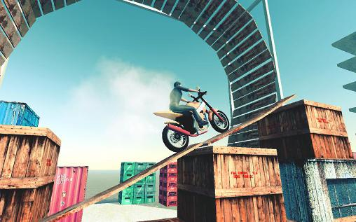 Motocross 3D captura de tela 3
