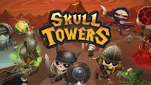 Skull towers: Castle defense screenshot 1