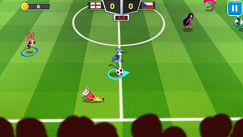 Toon cup 2018: Cartoon network's football game capture d'écran 1