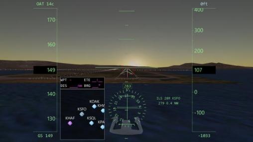 Der unendliche Flug - Flugsimulator für iPhone