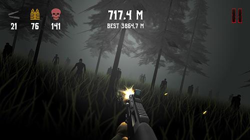 Actionspiele Evil kill für das Smartphone