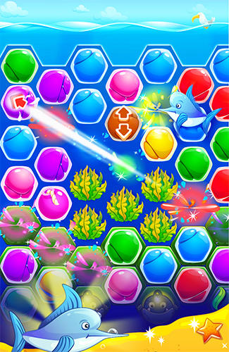 Pearl paradise: Hexa match 3 for Android