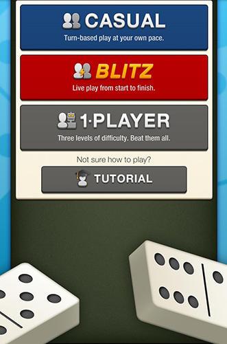 Brettspiele Domino! The world's largest dominoes community für das Smartphone