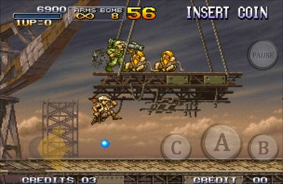 Shooter games METAL SLUG 3
