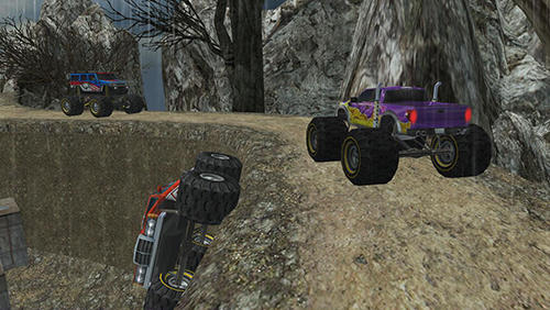 Off road hill truck madness für Android