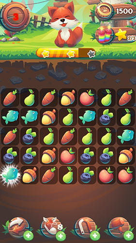 Arcade Fruit forest crush: Link 3 für das Smartphone