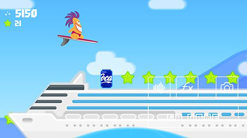 The wave surf: Tap adventure for iPhone