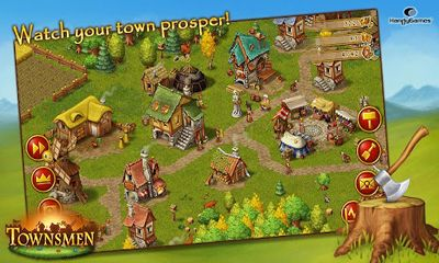 Strategy games Townsmen Premium for smartphone