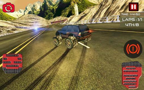 Rennspiele Monster truck racing ultimate für das Smartphone