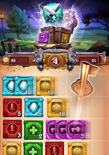 Arcade Tiles and talespara smartphone