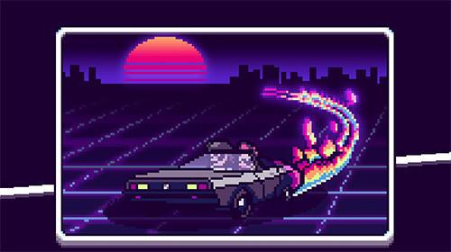 Synthwave escape Screenshot
