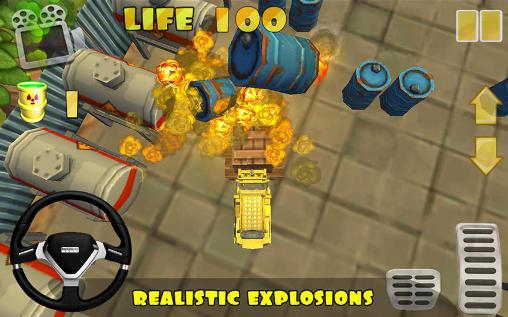Extreme forklift: City drive. Danger forklift Screenshot
