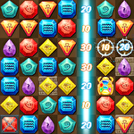 Egypt jewels: Gems match 3 digger Symbol