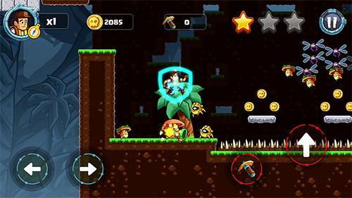 Arcade Jungle world: Super adventure für das Smartphone