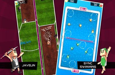 Screenshot Flick Meister: Sommersport auf dem iPhone