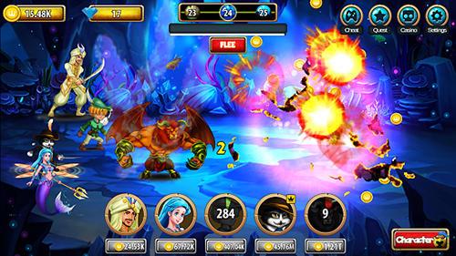 Strategie RPG Legacy Grimm: Tap auf Deutsch