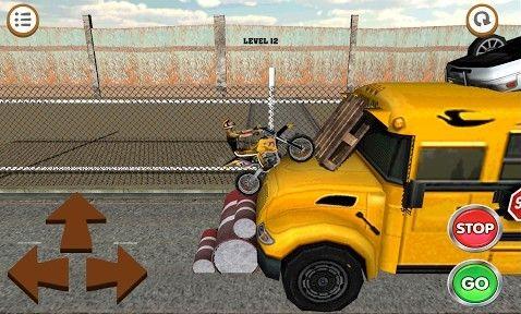 3D motocross: Industriel pour iPhone gratuitement