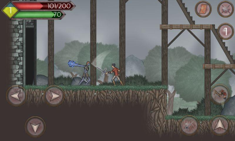 Runic Curse screenshot 1
