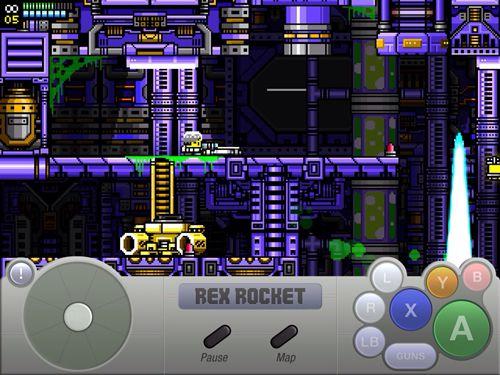 Screenshot Rex Rakete auf dem iPhone