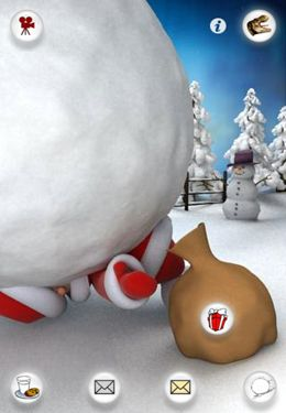 Santa Parlant pour iPhone gratuitement