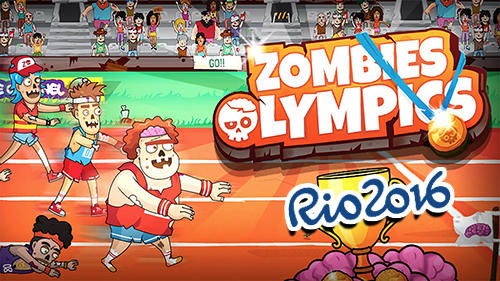 Zombies Olympics games: Rio 2016 screenshot 1