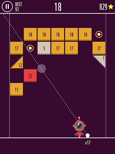 Arcade-Spiele One more brick für das Smartphone