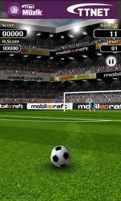 Simulation Flick Shoot für das Smartphone