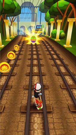 Jogos de arcade Subway surfers: World tour Romepara smartphone