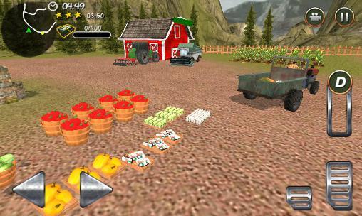 СимуляториHill farm truck tractor proдля смартфону