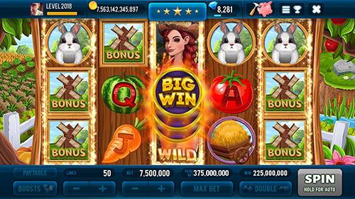 Farm and gold slot machine: Huge jackpot slots game auf Deutsch