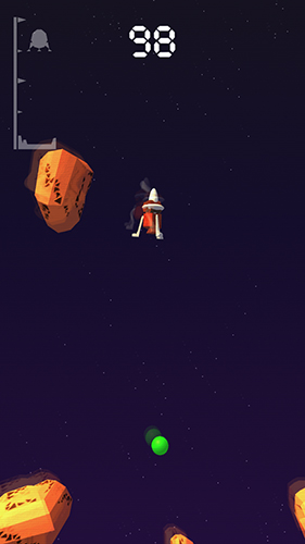 Lander pilot for iPhone