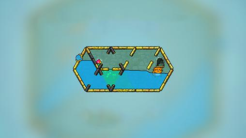 Logikspiele Hasty hamster and the sunken pyramid: A water puzzle für das Smartphone