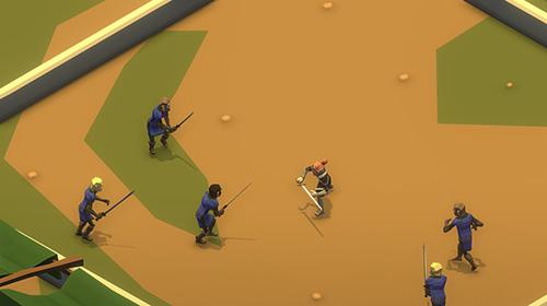 Actionspiele Slash of sword: Arena and fights für das Smartphone