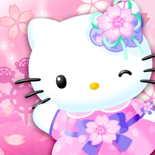 Hello Kitty World 2 Sanrio Kawaii Theme Park Game icône