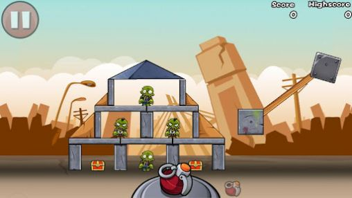 Bomb the zombies para Android