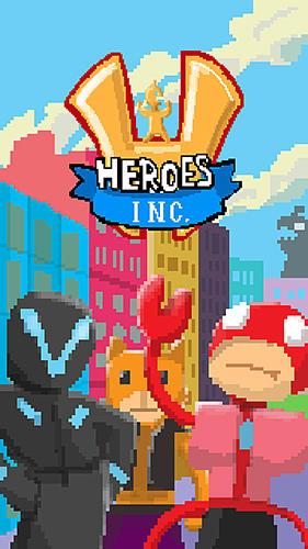 Heroes inc. Screenshot