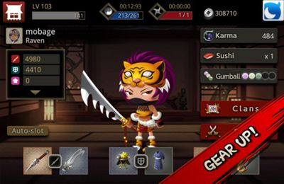 Le Ninja Action pour iPhone gratuitement
