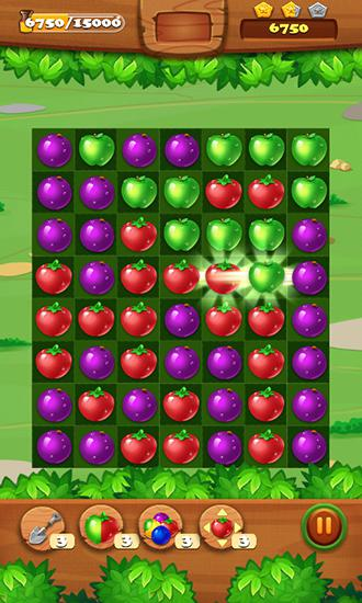 Juice jelly fruits blast скриншот 1