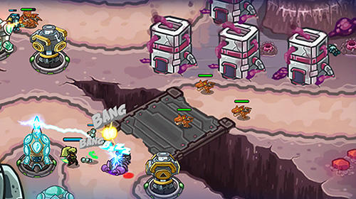 Galaxy defense: Lost planet for Android