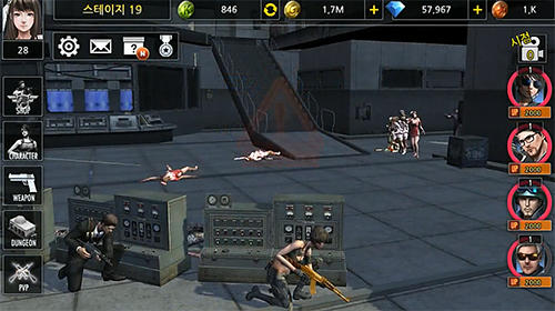 Idle soldier: Zombie shooter RPG PvP clicker для Android