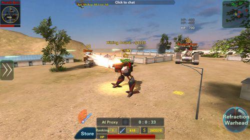 Screenshot Assault Corps 2 auf dem iPhone