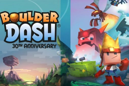 Boulder dash: 30th anniversary captura de tela 1