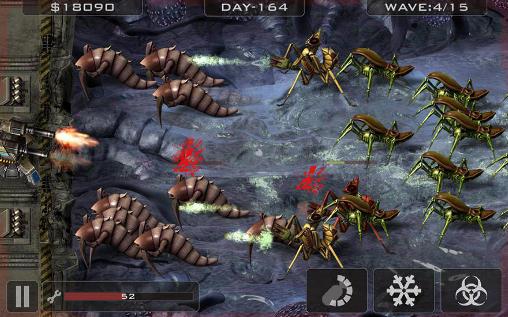Alien Bugs: Abwehr auf Deutsch