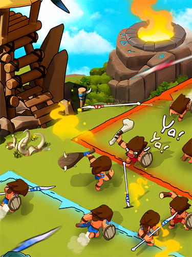 Online Strategy games Tribes age in English